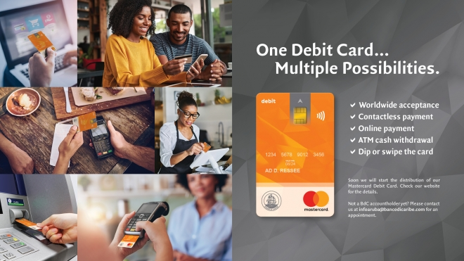 Introducing an all new experience with the Mastercard Debit Card